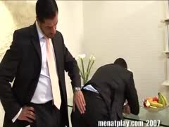 With men at play spank