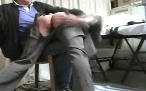 Spanked by the boss
