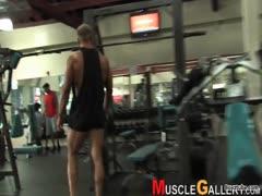 David Muscle Worship Part 2