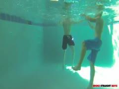 Johnny Forza & Adam Baer underwater