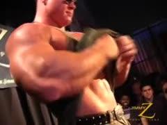 David Riley stripping