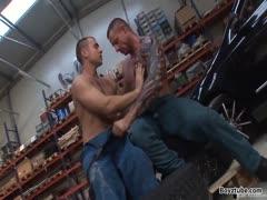 Raw Muscled Fucking Mechanics