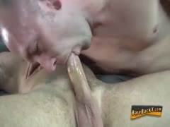 Getting bare fucked and rimmed