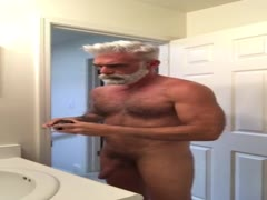naked silver daddy