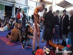 Top De Colmar backstage