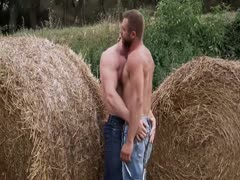 Farmhands Plowing