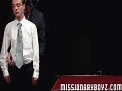 MissionaryBoyz - Masked Daddy Barebacks Teen
