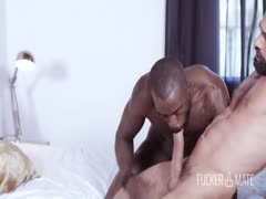 Big white dick for horny black ass